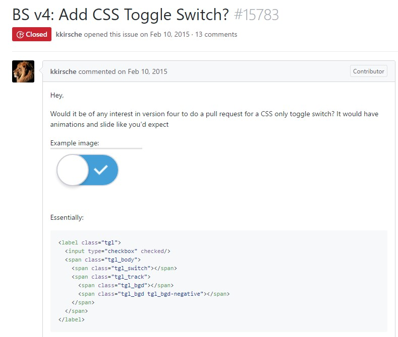The ways to  put in CSS toggle switch?