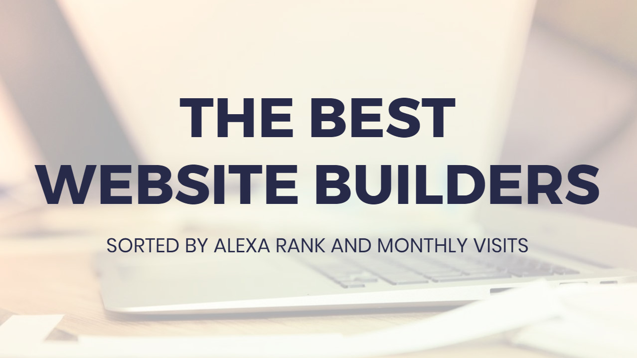 Most effective  Web Site Builders