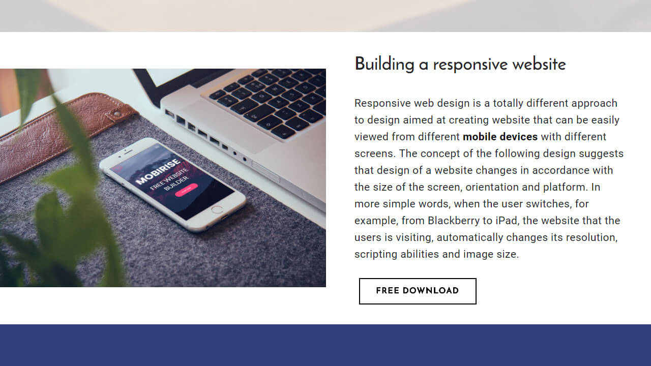 Responsive Website Builder Software