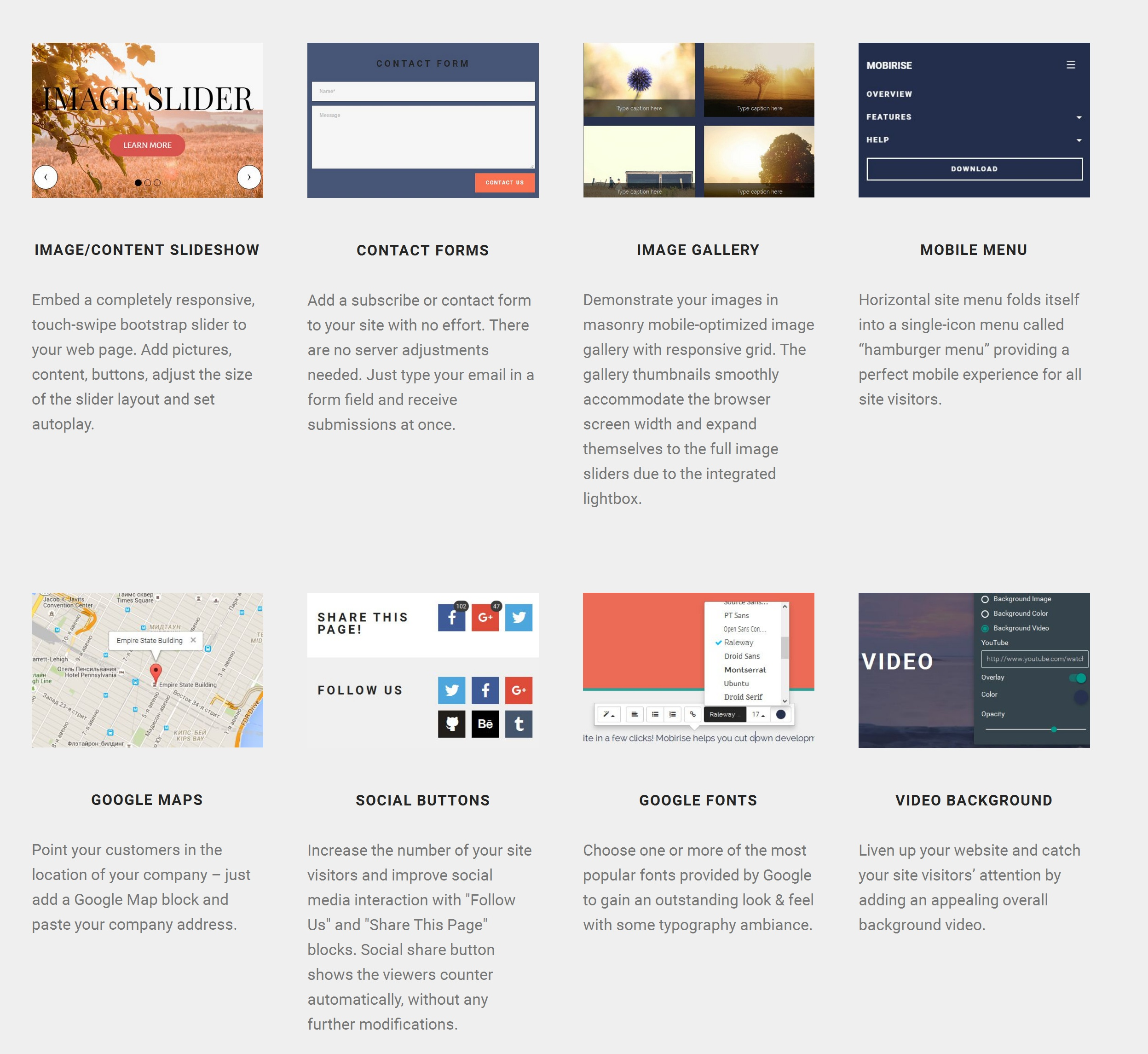 Quick Bootstrap Web Page  Creator