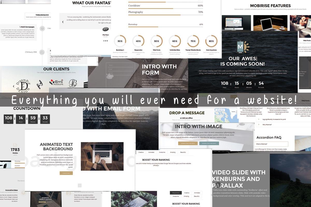 HTML5 Responsive Web Creator Software