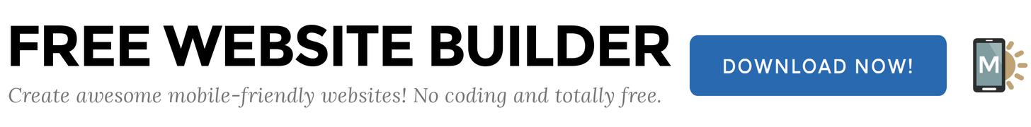 free easy website builder