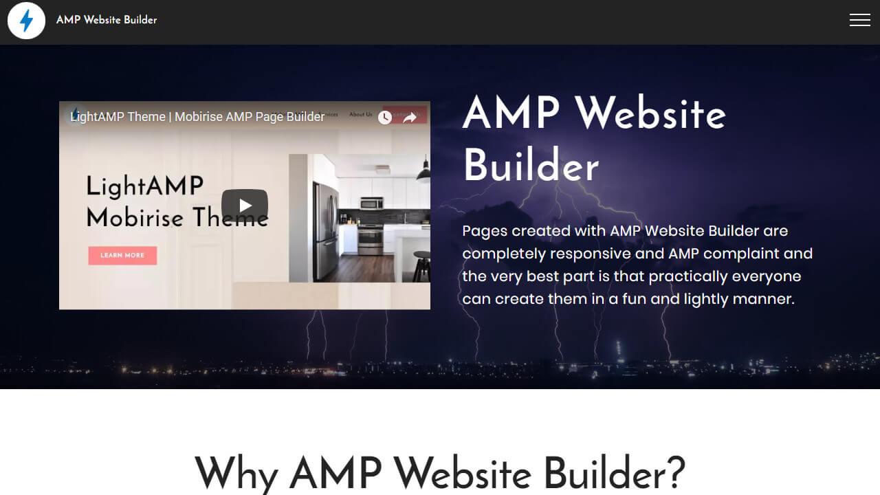 Free AMP Website Maker