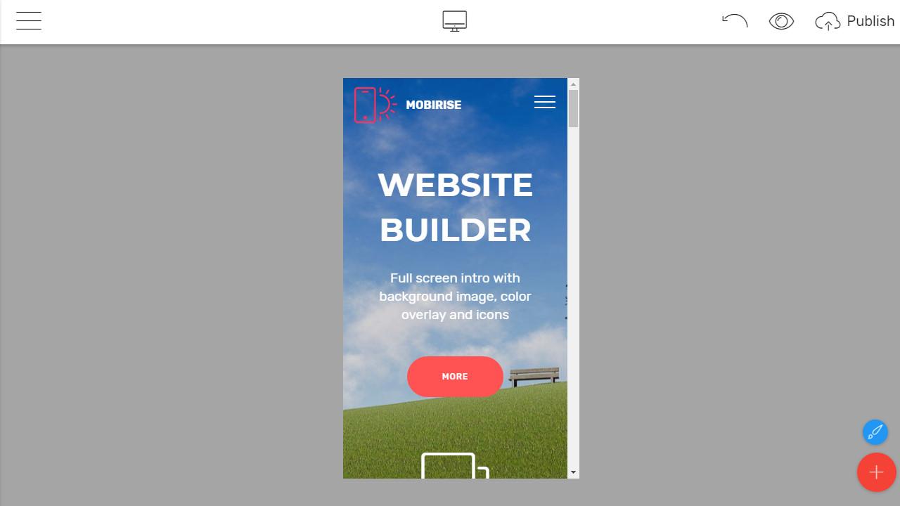 Responsive Site Builder